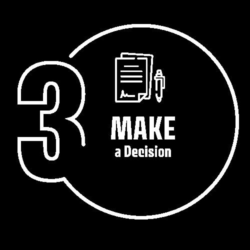 Step 3 - Make a Decision